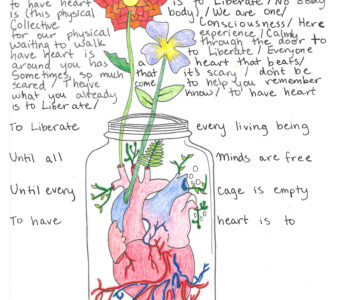 To have heart is to liberate.