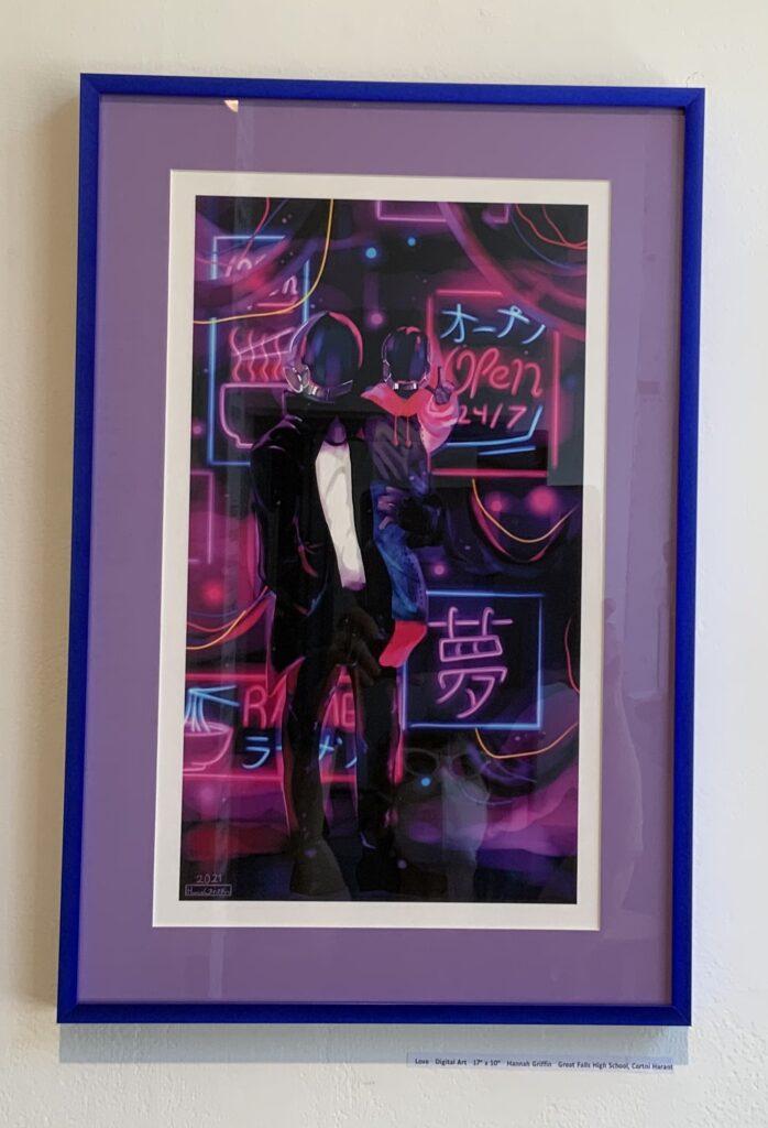 "Love   Digital Art   17"" x 10"""